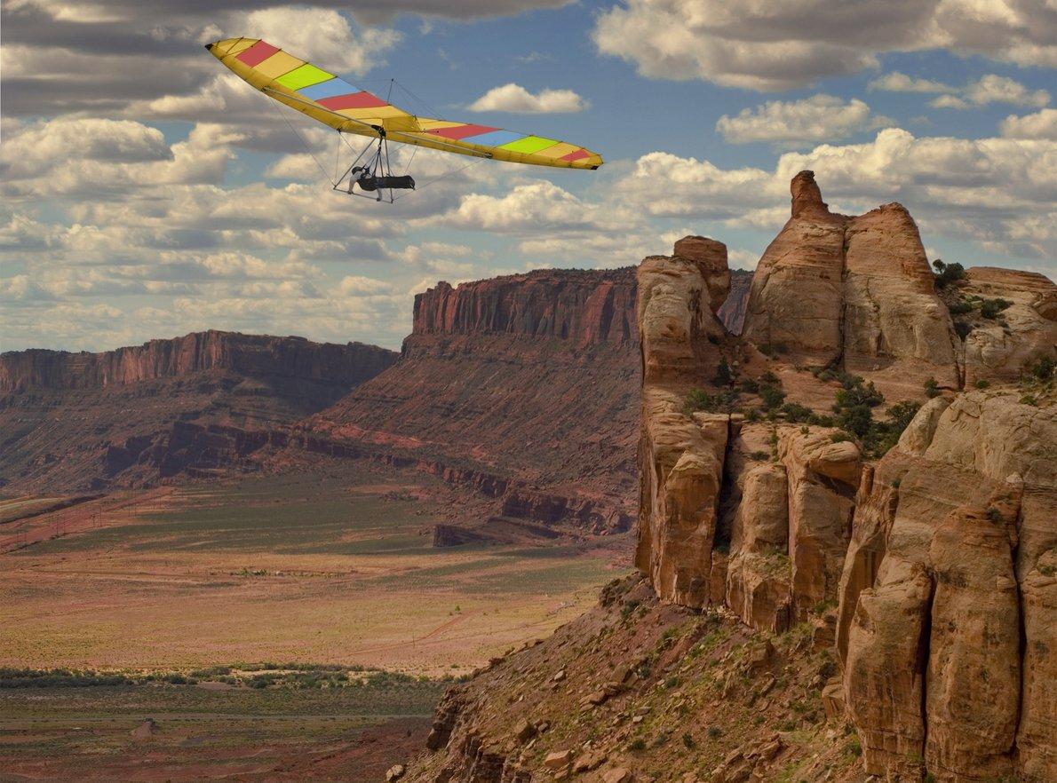 Gliding in Utah