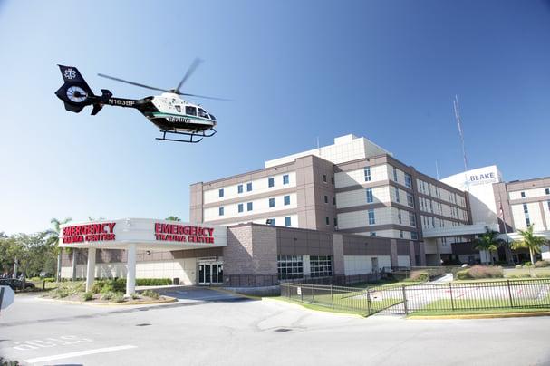 Blake Medical Center Trauma Helicopter