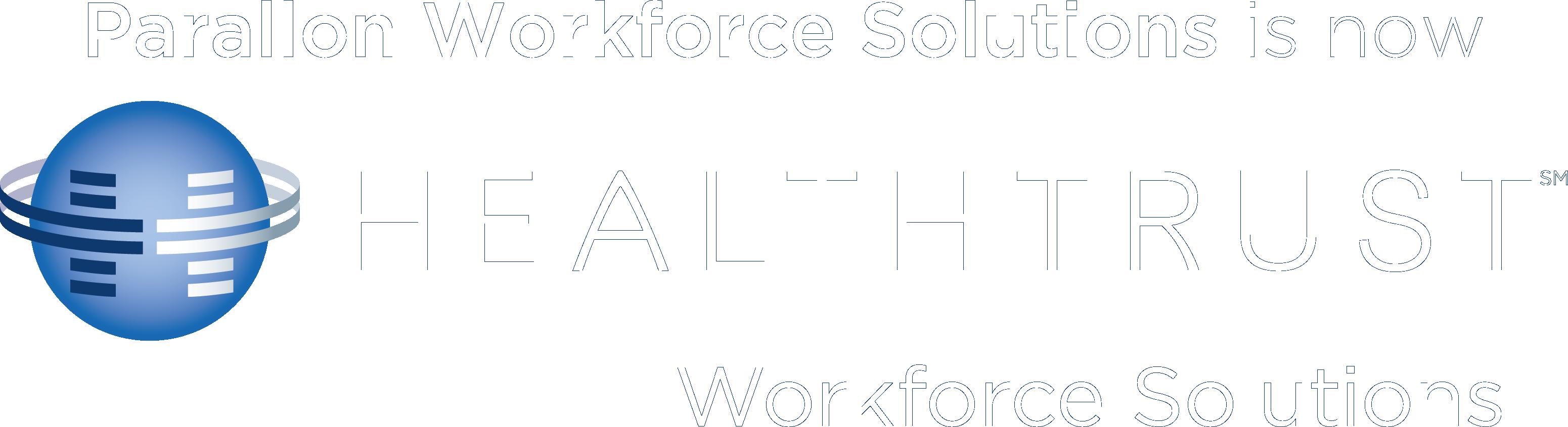 Parallon Workforce Solutions is now HealthTrust Workforce Solutions